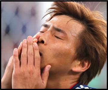 日本代表 予選突破