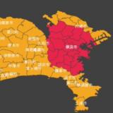 横浜市大雨警報電車ダイヤ運行状況遅延影響