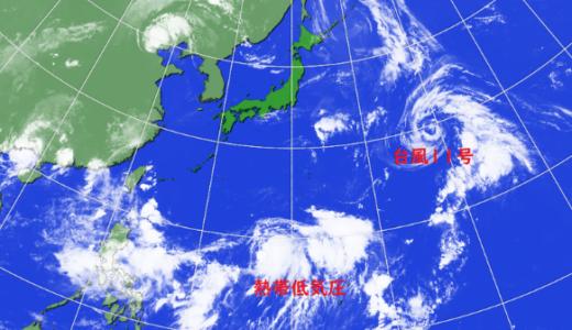 台風12号(2018)東京・関東にいつ上陸する?飛行機や電車の影響はある?