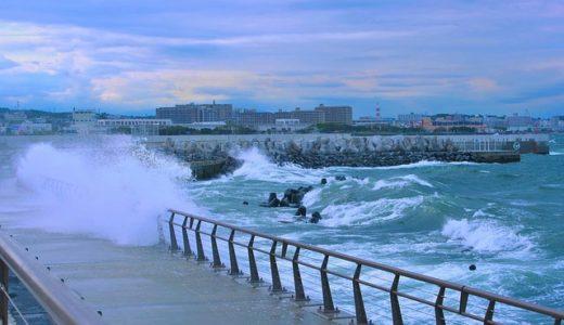 台風24号飛行機欠航遅延運休影響