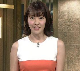 副島萌生アナ髪型かわいい