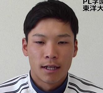 中川圭太が東洋大学出身です。