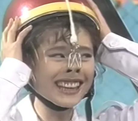 鼻フックする若い頃の篠原涼子