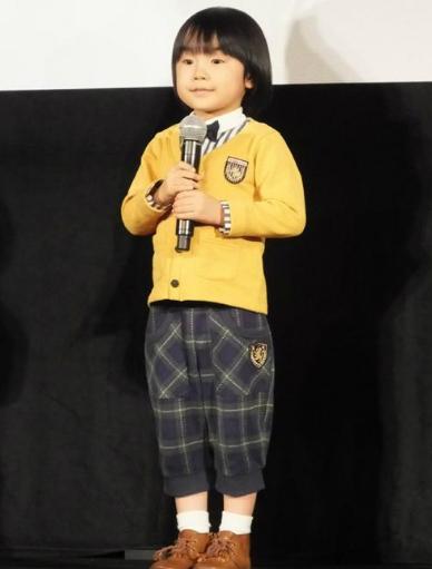 寺田心,6歳