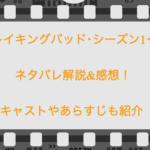 【ブレイキングバッド・シーズン1・1話】ネタバレ解説&感想!キャストやあらすじも紹介