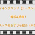 ブレイキングバッド【シーズン1・3話】解説&感想!キャストやあらすじも紹介(ネタバレ)