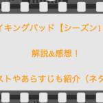 ブレイキングバッド【シーズン1・5話】解説&感想!キャストやあらすじも紹介(ネタバレ)